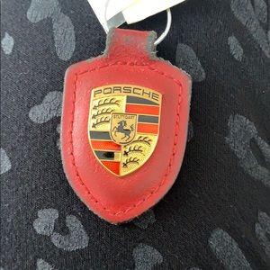 Porsche keychain.